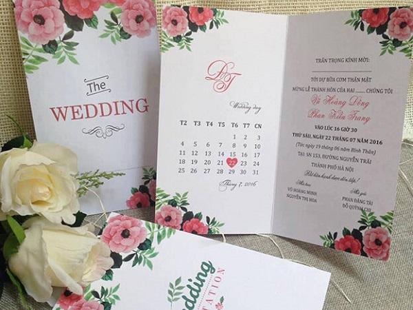 in thiệp cưới giá rẻ