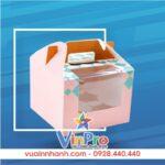 mẫu in hộp bánh kem