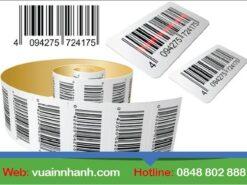 In nhanh barcode giá rẻ hcm