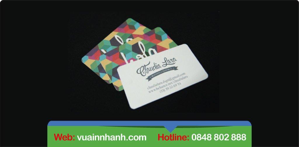 In name card lấy liền giá rẻ