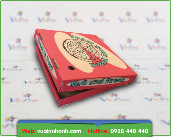 in hộp pizza đẹp giá rẻ