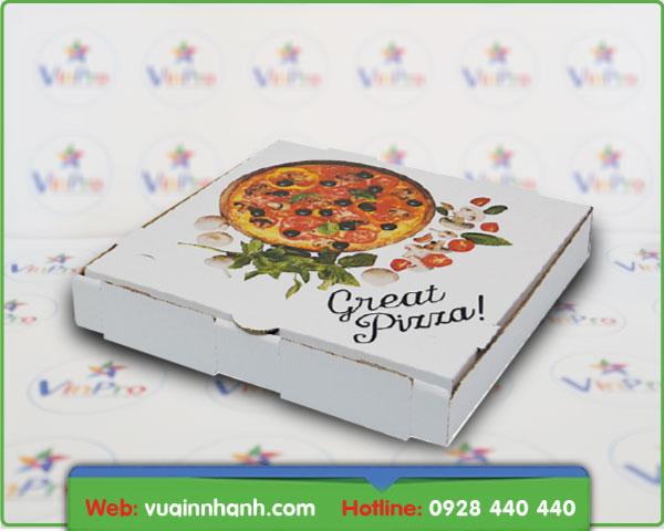 làm hộp pizza giá rẻ