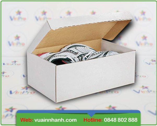 In hộp giấy đựng giày hcm