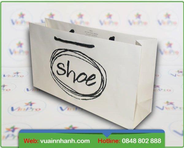 In túi giấy đựng giày dép