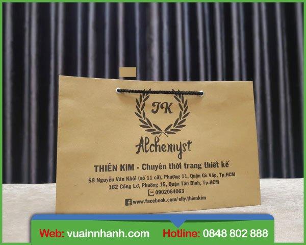 In túi giấy kraft giá rẻ đẹp