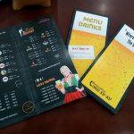 in nhanh menu quán nhậu