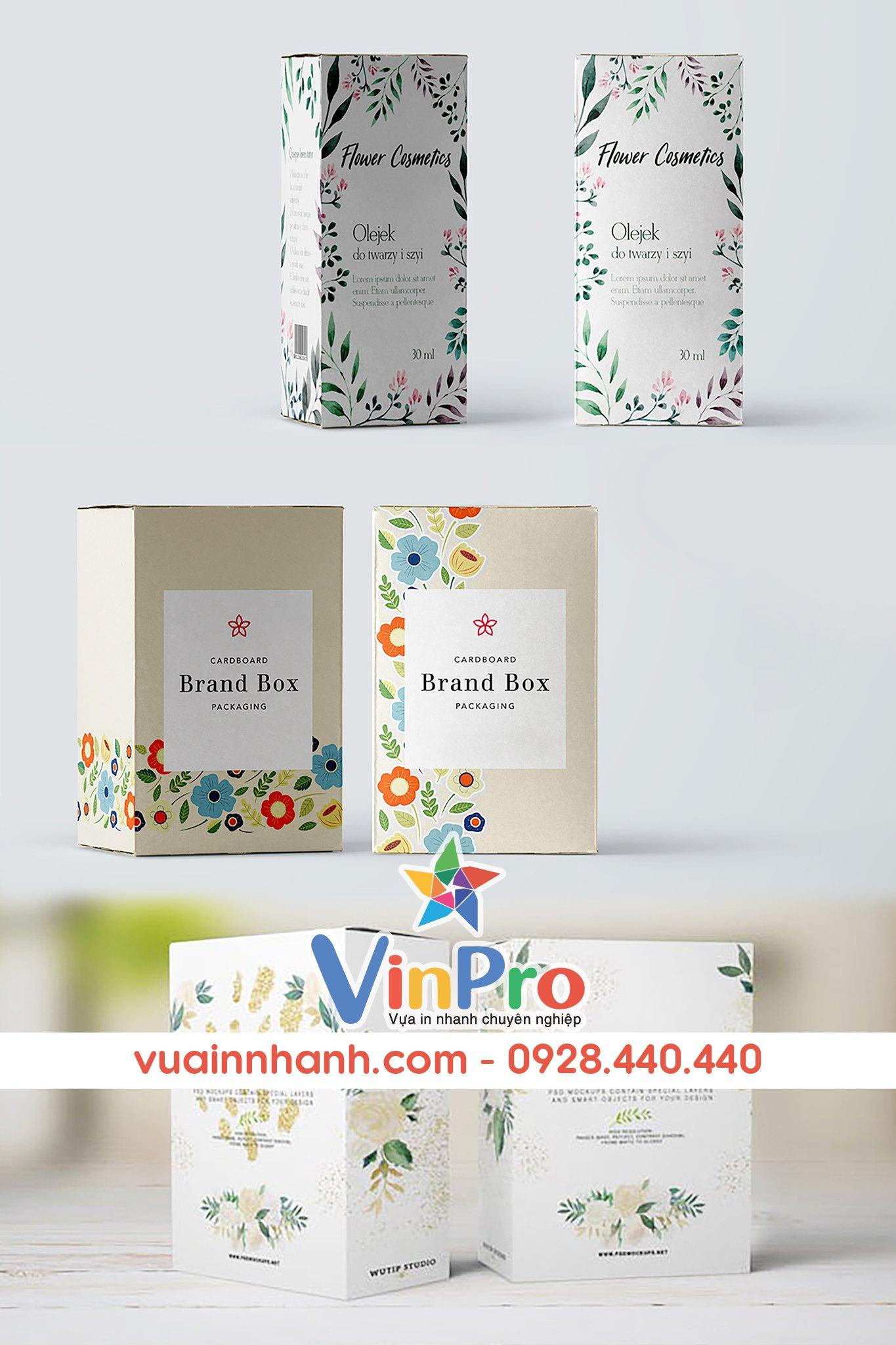 In ấn bao bì giấy tại VinPro