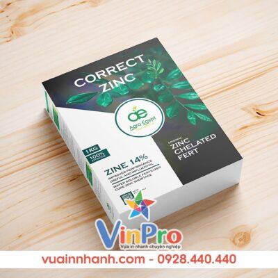 Mẫu bao bì giấy đẹp tại VinPro