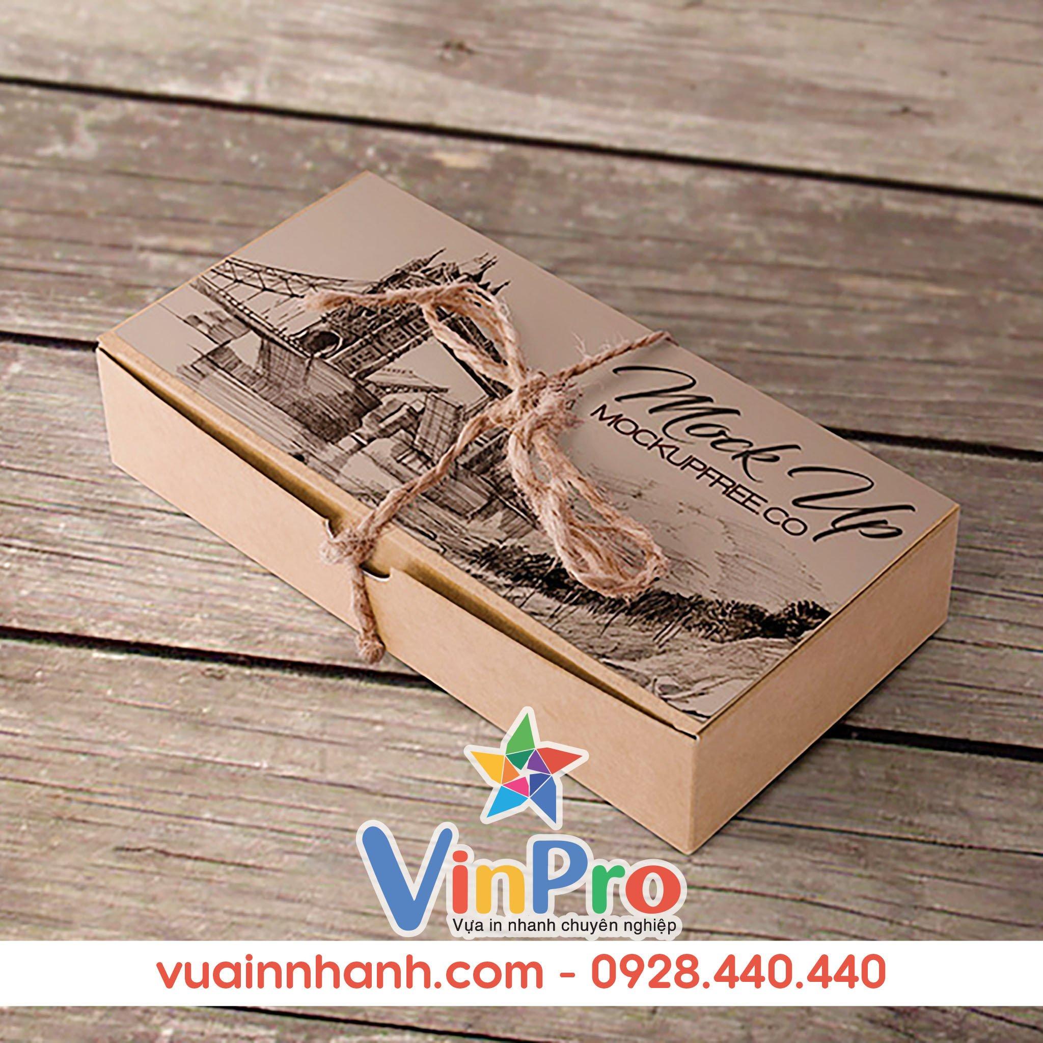 In bao bì giấy tại VinPro