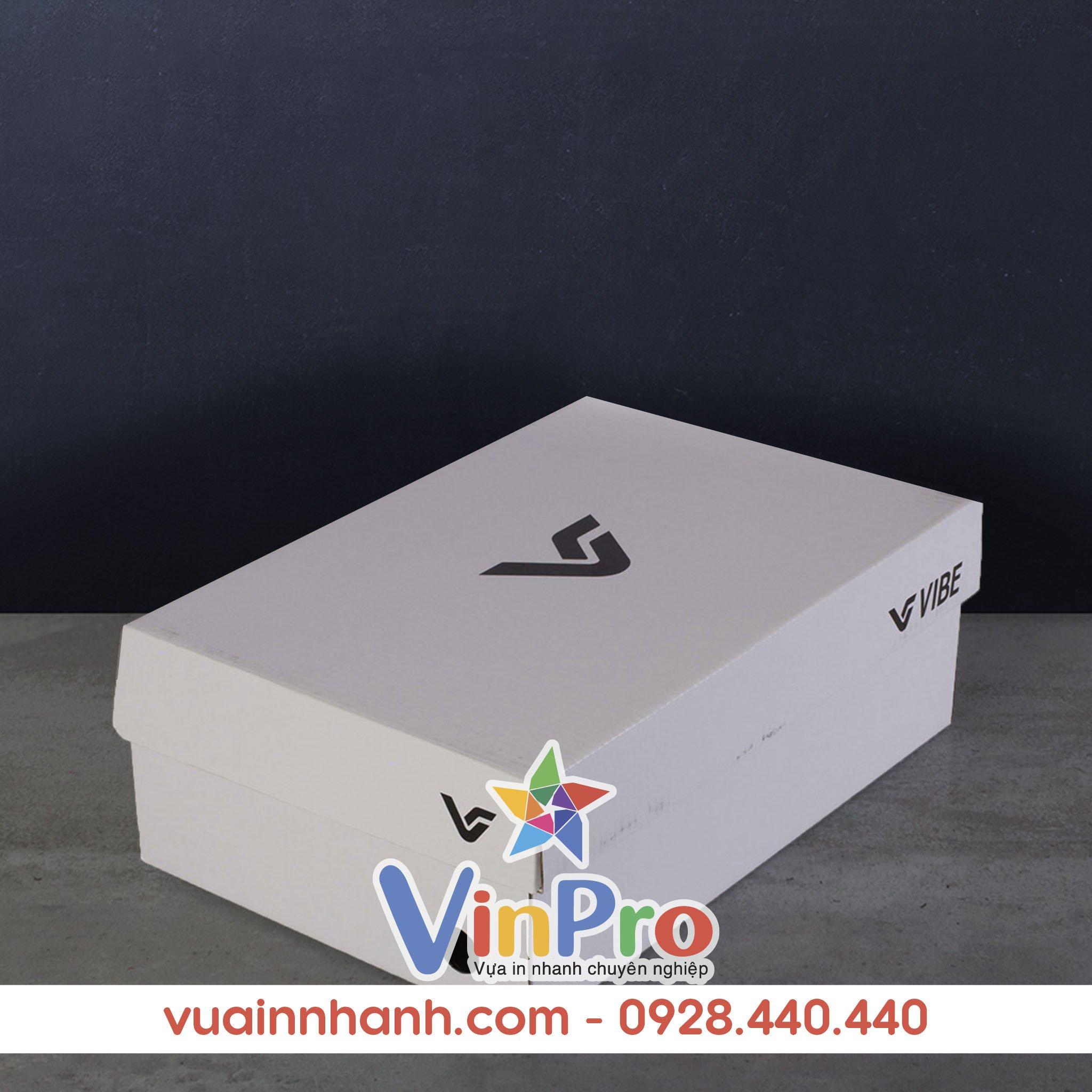 Mẫu hộp giấy đựng giày đẹp 05