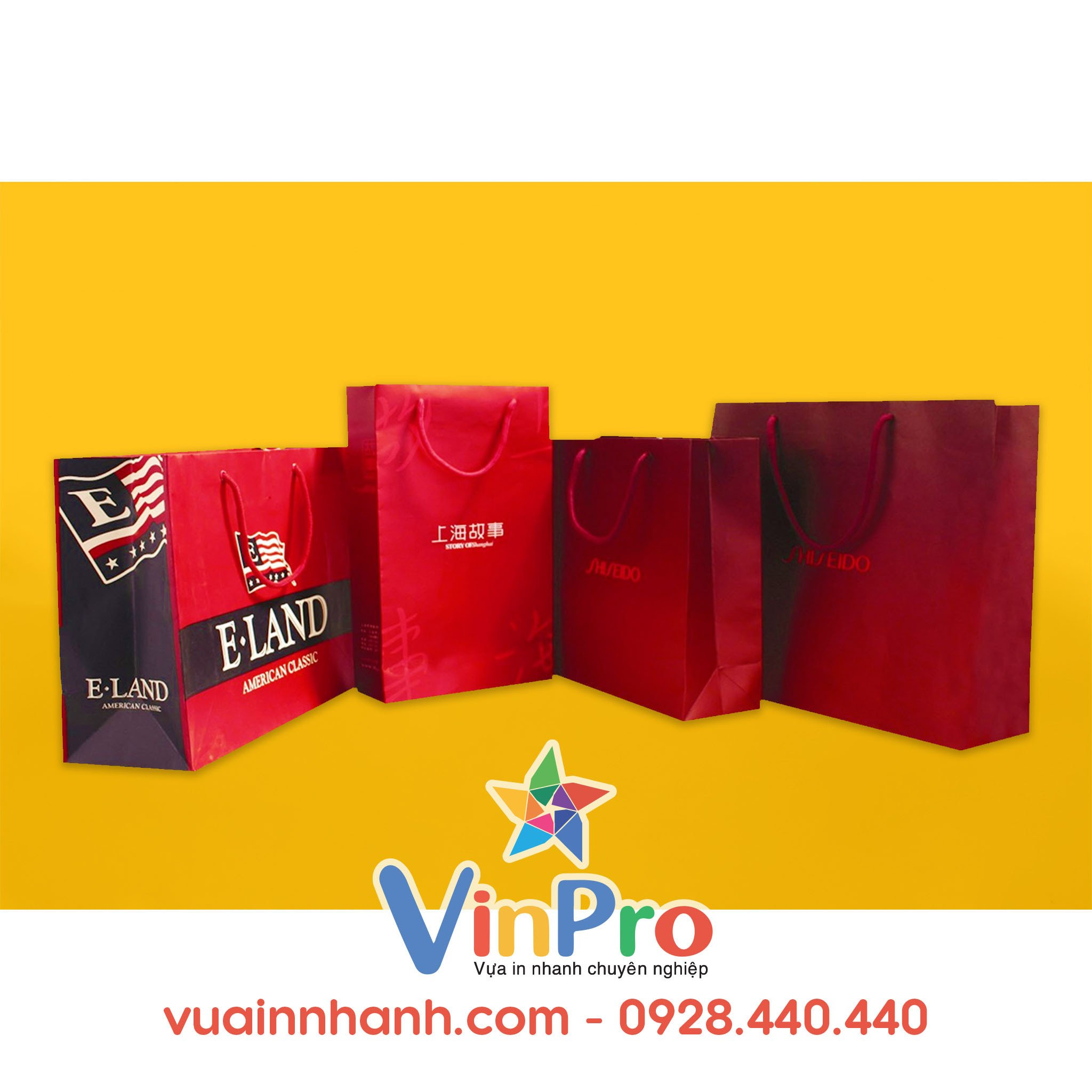Túi giấy thời trang đẹp tại VinPro