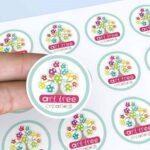 in sticker chất lượng