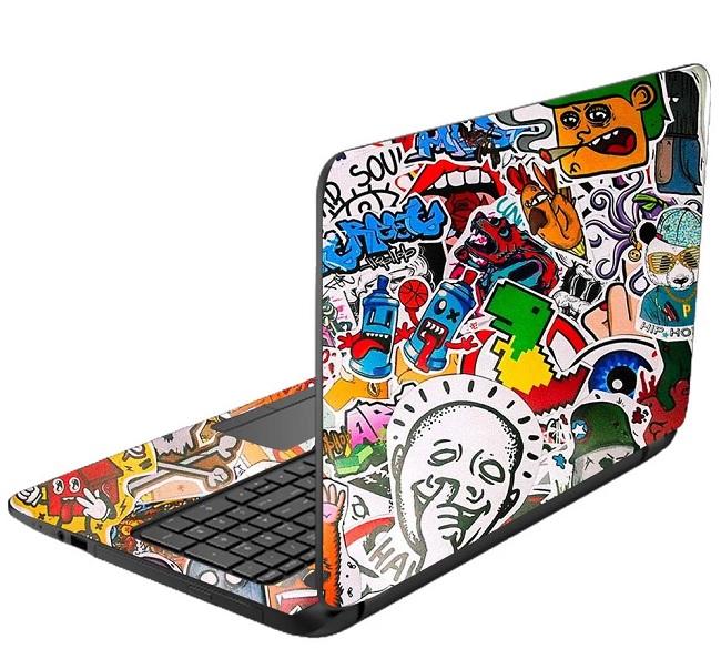 in sticker dán laptop giá rẻ