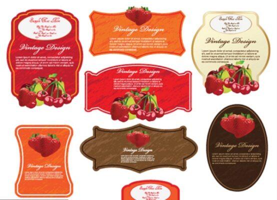 mẫu tem dán sản phẩm