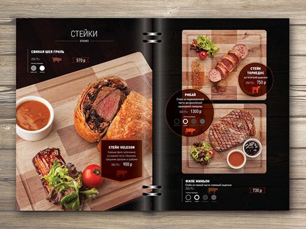 lưu ý khi in menu nhà hàng chất lượng