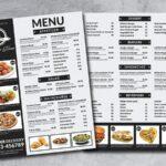 lưu ý khi in menu nhà hàng
