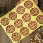 in tem giấy tròn dán chai lọ chất lượng