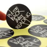 in tem giấy tròn dán chai lọ lấy liền