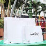 mẫu túi kraft trắng cao cấp