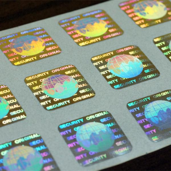 in tem hologram, tem 7 màu