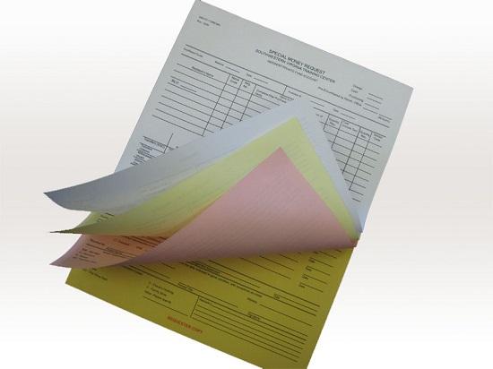 Đinh lượng giấy Carbonless
