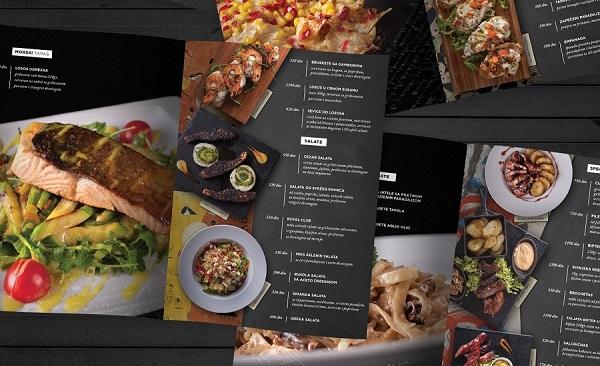 mẫu menu đẹp cho nhà hàng hcm