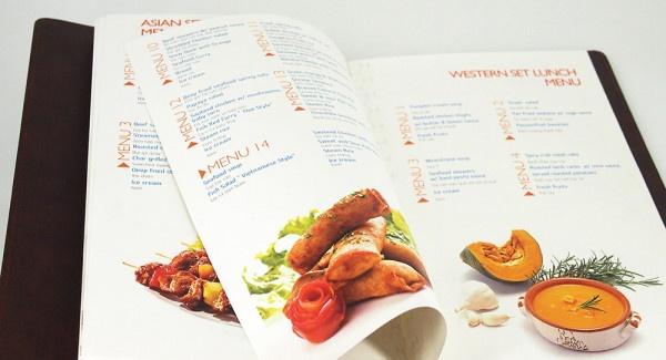 mẫu menu đẹp cho quán ăn ấn tượng