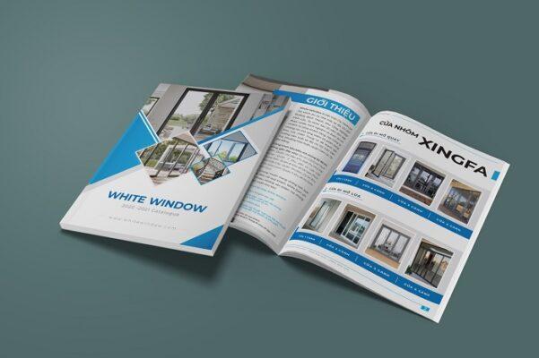 phân biệt brochure, catalogue, profile