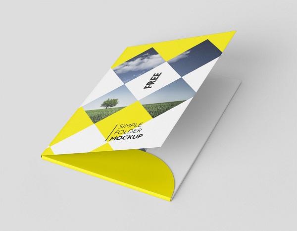 mẫu folder đẹp thu hút