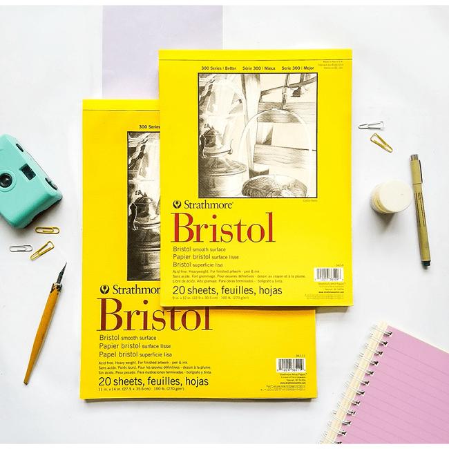 chất liệu Giấy Bristol
